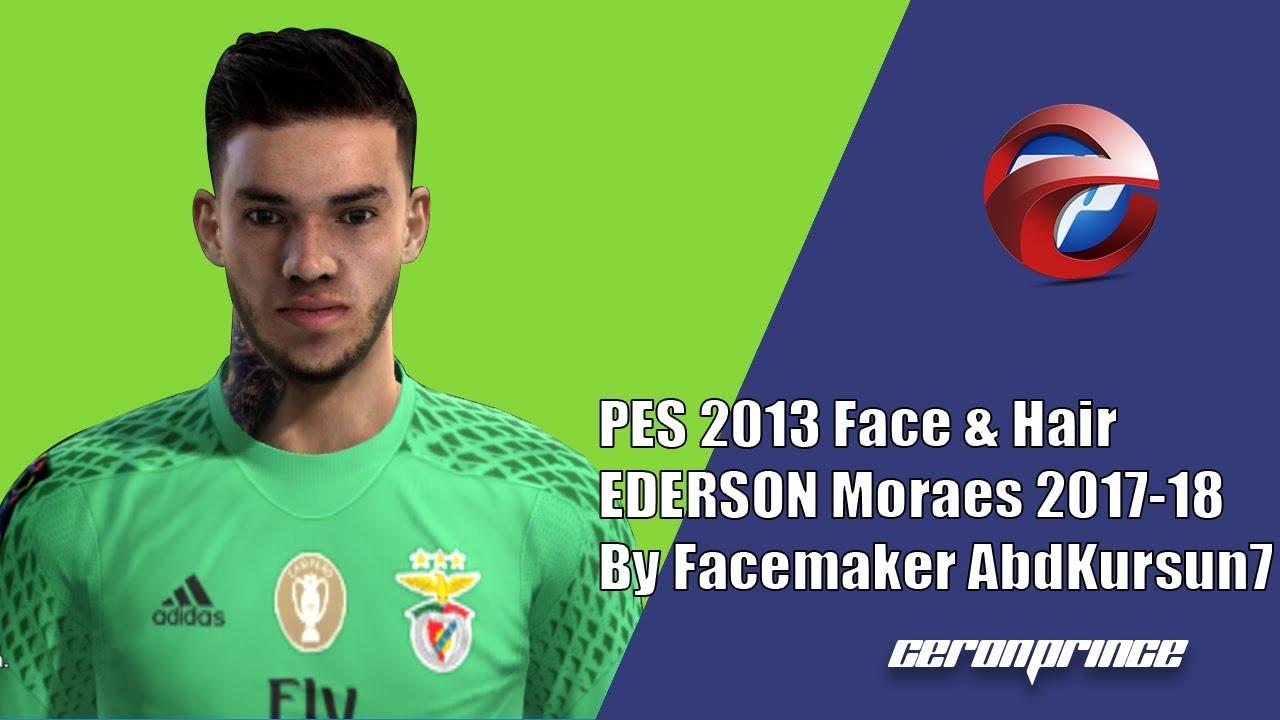 PES 2013] NEW FACE & HAIR EDERSON Moraes 2017 18