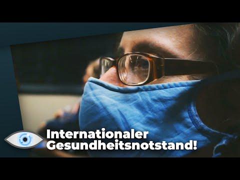 102.000 Coronavirus Verdachtsfälle - Weltgesunheitsorganisation WHO erklärt Gesundheitsnotstand