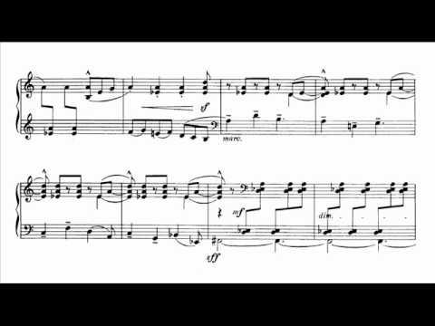 Béla Bartók - Six Dances in Bulgarian Rhythm [2/6]