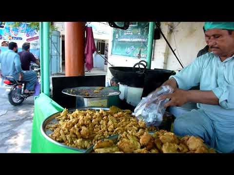 Sialkot   Street Food  (Part 8) Ashoke Pakore wala (Video 163)