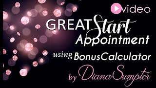Great Start Appointment Calculator