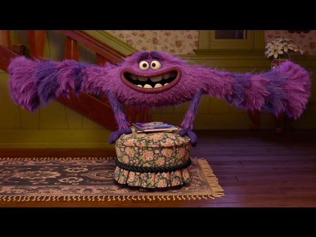 Monsters University Terri Terry And Art Clip Youtube