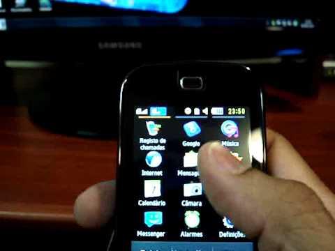 Transformando Vídeo Samsung B5722 em Tela Cheia em Alta Qualidade !!!