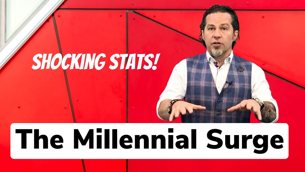 The Millennial Surge - Shocking Real Estate Stats!