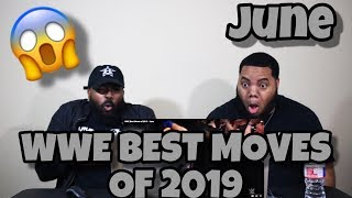 WWE Best Moves of 2019 - June (REACTION) 😱