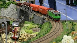 Miniatur Wunderland - HO Scale railroads with  Model Trains/Locomotives - Hobby fair 2017