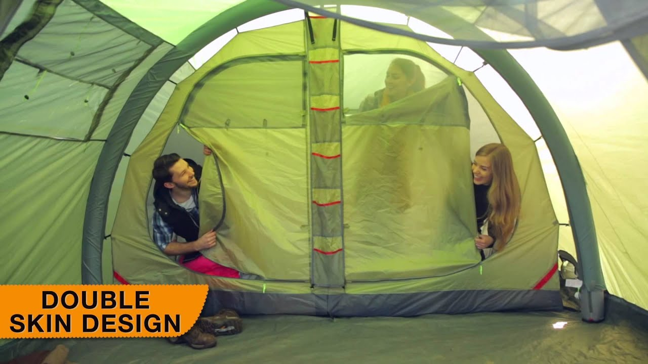 & Urban Escape 4 Person Inflatable Tent - YouTube