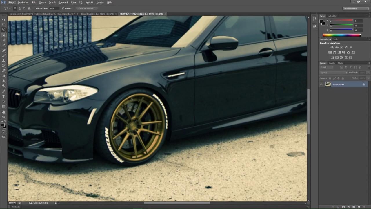 Mazda Rx 5 Virtual Tuning Photoshop Cs6 Youtube