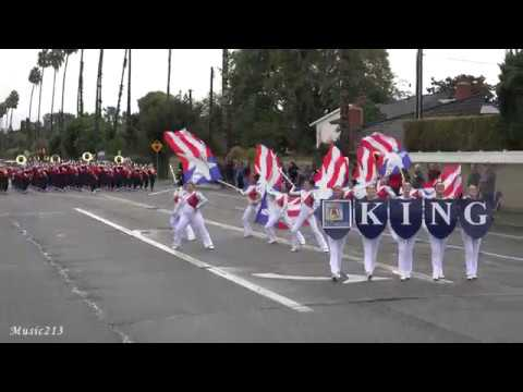 Riverside King HS - Hands Across the Sea - 2018 Placentia Band Review