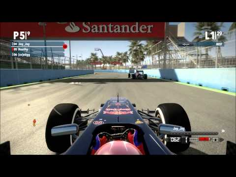 Valhalla Gamer F1 2012 Season Race 8 Europe