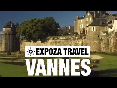 Vannes (France) Vacation Travel Video Guide