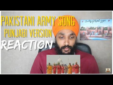 HAMARA PAKISTAN | Punjabi | ISPR | Pakistani Army Song Reaction