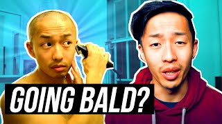 ASIAN GUY GOING BALD? ACCEPTING MY BALDING AND HOW TO GET OVER BALDING