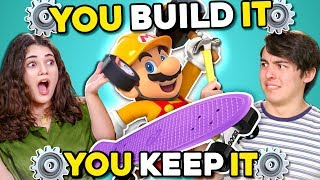 Download Can YOU Build A Skateboard In 30 Minutes? | You Build It, You Keep It Mp3 and Videos