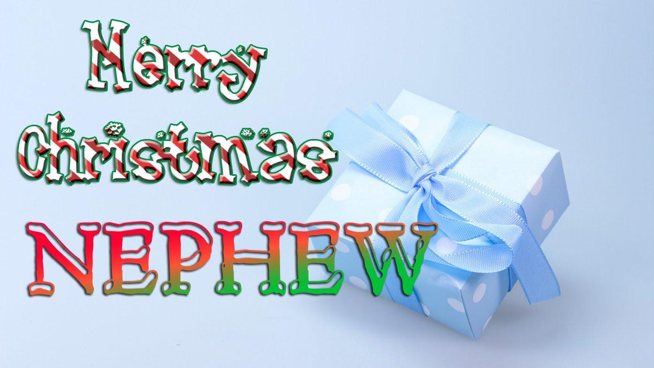 Merry Christmas Nephew - Christmas Greetings Card eCard - YouTube
