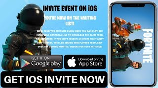How to download Fortnite Mobile for iOS and android - Invite/Code event sign up now