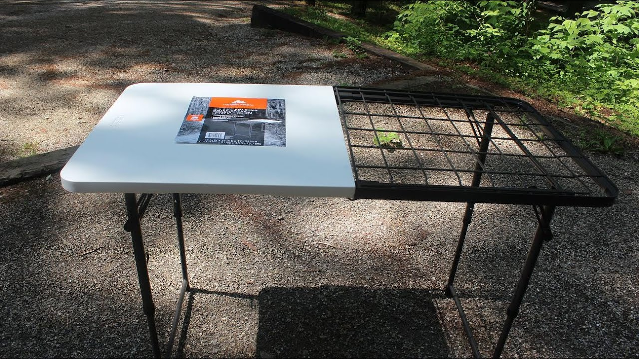 Folding Grill Table By Ozark Trail By The Lighthouse Lady