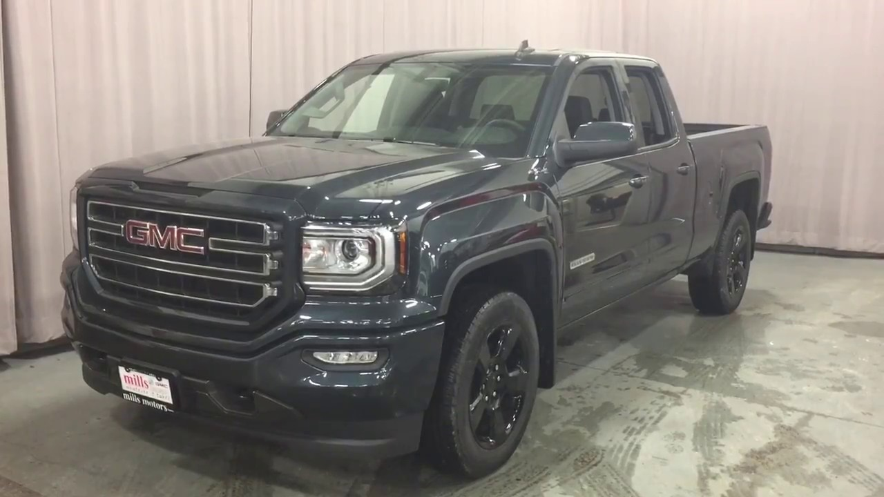 2017 gmc sierra 1500 sle 4wd double cab 20 inch wheels spray on box liner stock 170940 youtube. Black Bedroom Furniture Sets. Home Design Ideas
