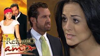 Un refugio para el amor - Capítulo 63: Rodrigo cancela la boda religiosa con Luciana | Tlnovelas