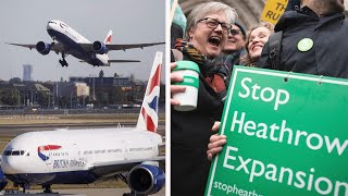 video: 'Boris Bridge' and second phase of HS2 could be under threat after Heathrow ruling