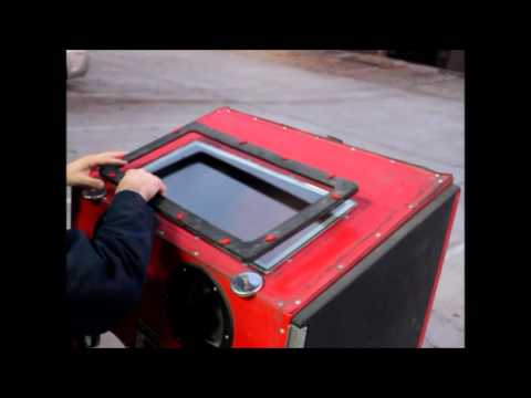 Tacoma Company Harbor Freight Sandblast upgrade video - YouTube