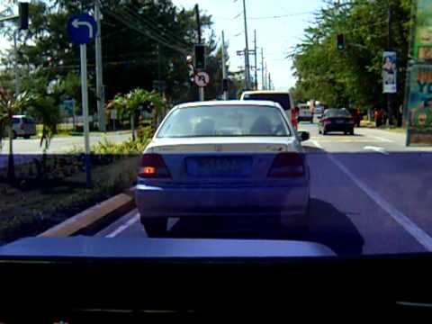 driving in SBMA