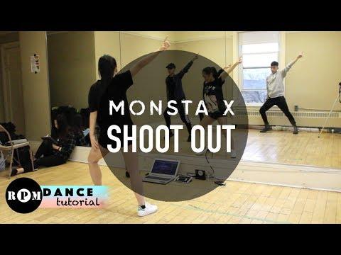 "MONSTA X ""Shoot Out"" Dance Tutorial (Chorus)"