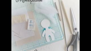 МАСТЕР-КЛАСС | КУКЛА с ладошку  | Своими руками | DIY Сделай сам