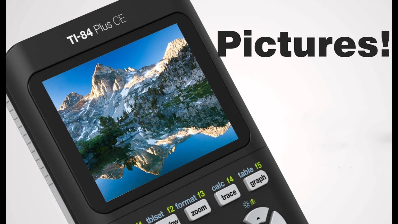 How to Put Pictures on the TI 84 Plus CE!