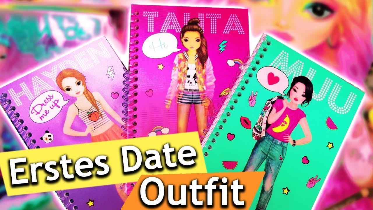 topmodel challenge erstes date outfit eva vs patricia welcher look ist cooler topmodel. Black Bedroom Furniture Sets. Home Design Ideas