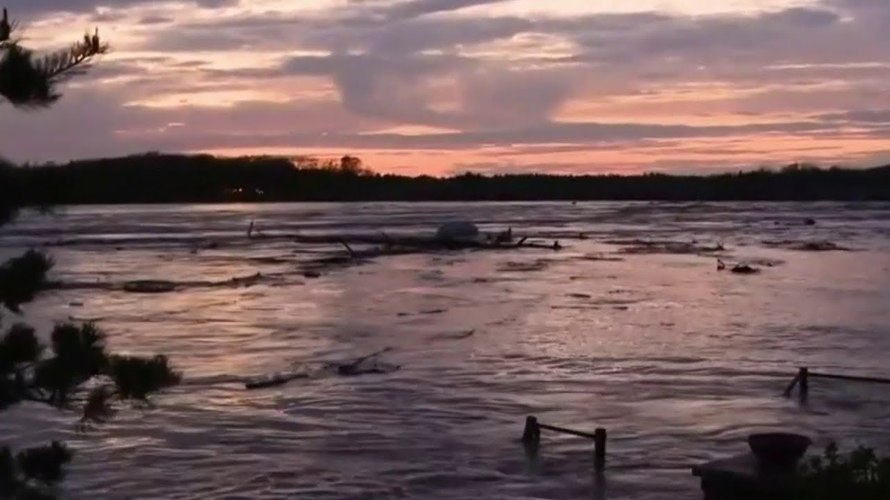 Evacuations underway in mid-Michigan after multiple dams breached