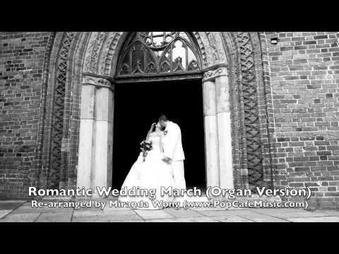 Romantic Wedding March For Organ
