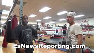 boxing 101 fighting on the inside vs a tall fighter - EsNews