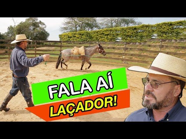 Meu cavalo se ASSUSTA com o LAÇO. E agora?