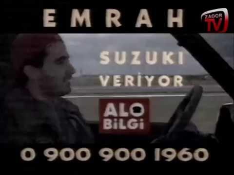 EMRAH SUZIKI  VERİYOR - 900'LÜ HAT REKLAMI