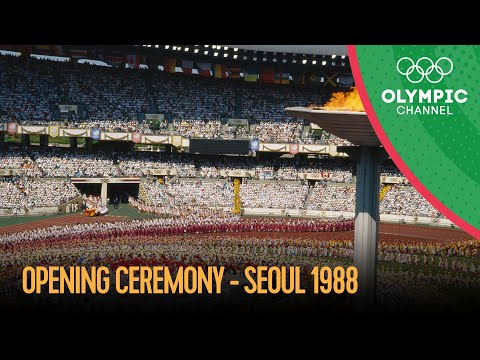 Seoul 1988 - Opening Ceremony   Seoul 1988 Replays