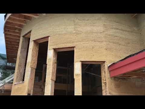 Hempcrete Construction: Highland Hemp House