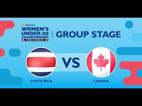 CU20W: Costa Rica vs. Canada