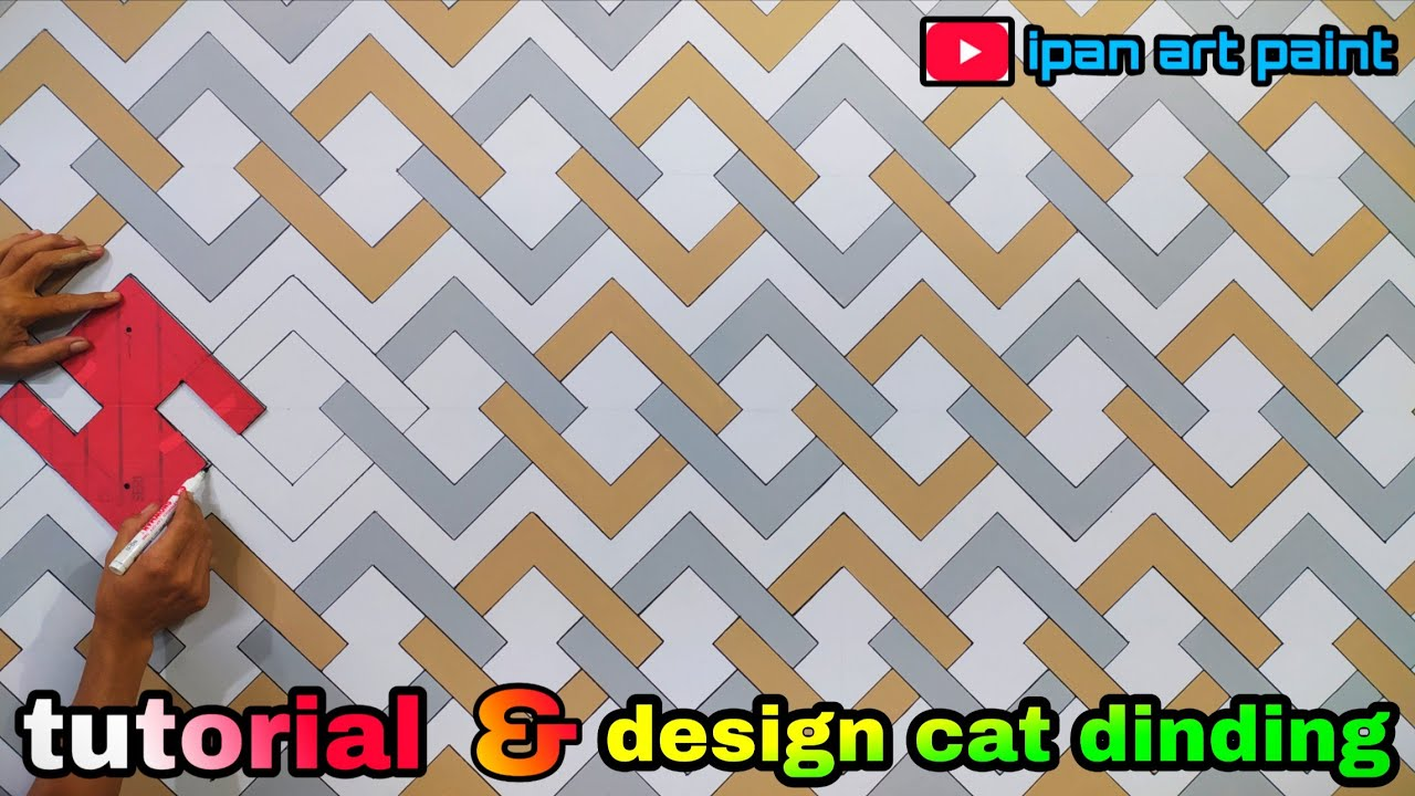 Design Cat Tembok Kreatif Wall