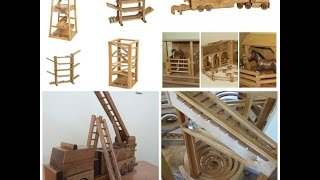 Amish Handmade Wood Toys & Games