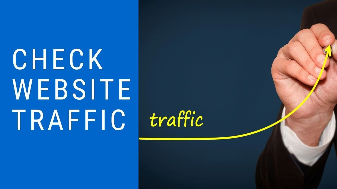 how to check live traffic on website