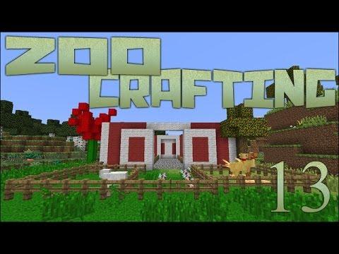 Zoo Crafting: Barn Raising - Episode #13