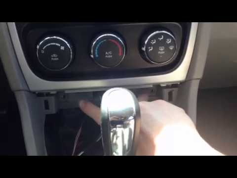 2010 Dodge Caliber Climate Control panel removal - YouTube