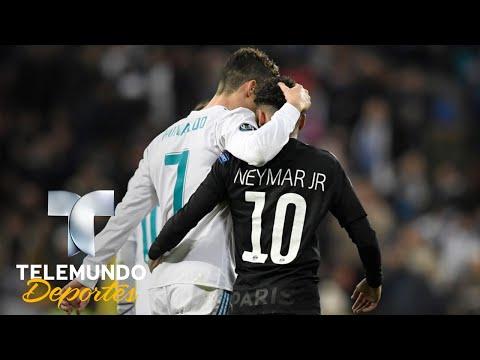 Cómo ven Neymar y Cristiano Ronaldo la idea de jugar juntos