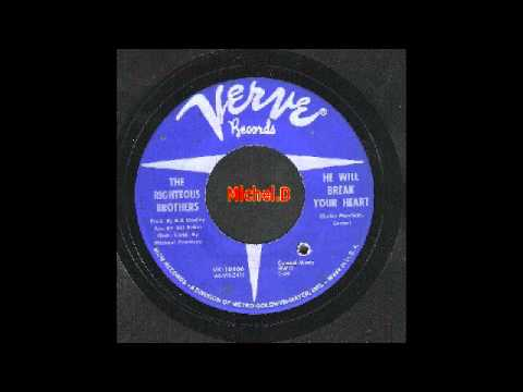 The Righteous Brothers - He Will Break Your Heart - Verve 10406