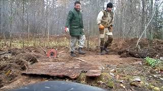 СУПЕР МОЩНЫЙ КОП МЕТАЛЛА забрал платформу от трелёвочника