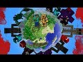 GIANT EVIL MONSTERS APPEAR ON MY MINECRAFT PLANET !! Minecraft Mods