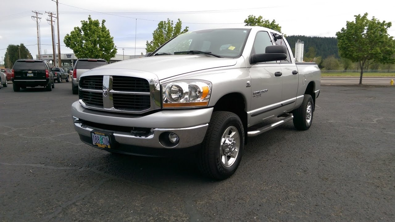 2006 dodge ram 2500 big horn edition reviews