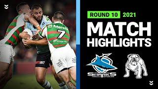 Sharks v Rabbitohs Match Highlights   Round 10, 2021   Telstra Premiership   NRL