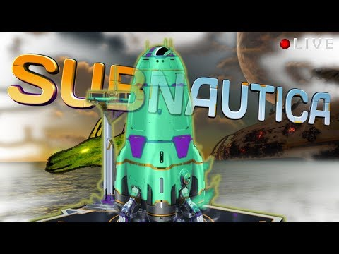 Going on a trip in our favorite rocket ship! - Subnautica END - Curing Kharaa and leaving the planet